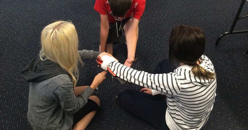 CatholicCare funds St John's NSW First Aid course IMAGE