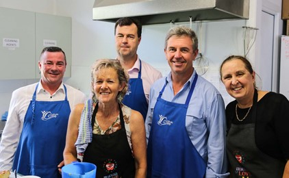 Taree Community Kitchen celebrates 20,000 meals served IMAGE