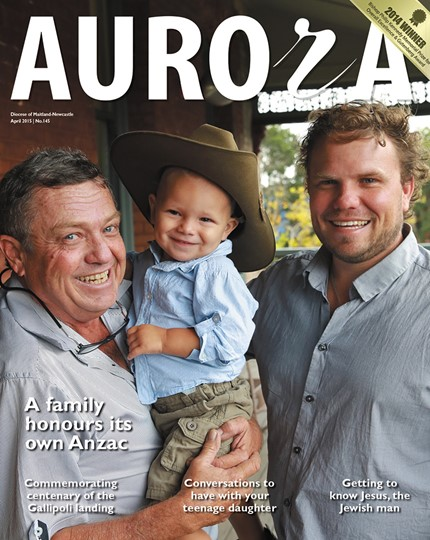 Aurora Magazine April 2015 Cover