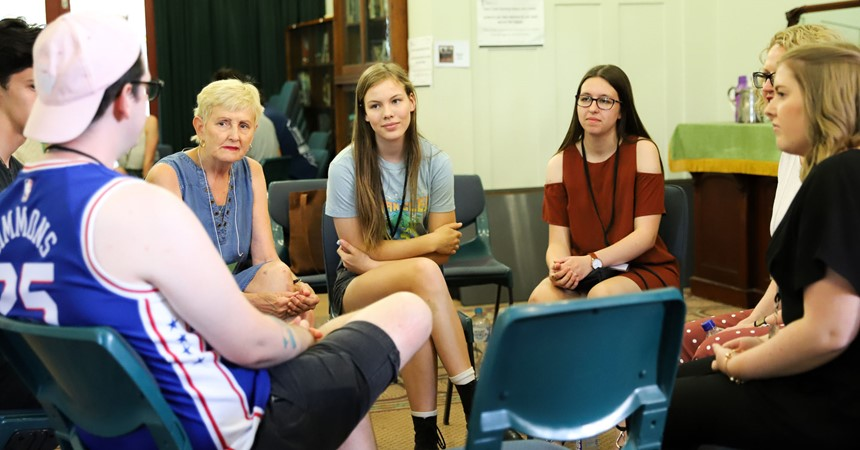 Youth gather in preparation for this year's Australian Catholic Youth Festival IMAGE