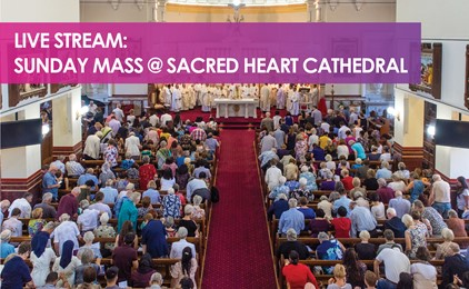 Image:Live Stream Mass this Sunday