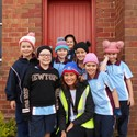 Beanie for Brain Cancer day at St Peter's Image
