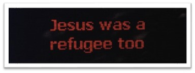 Jesus was a refugee too
