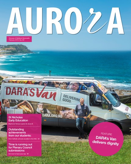 Aurora Magazine February 2019 Cover