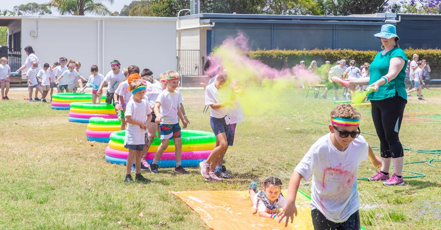 Gallery: Colour-filled community spirit IMAGE
