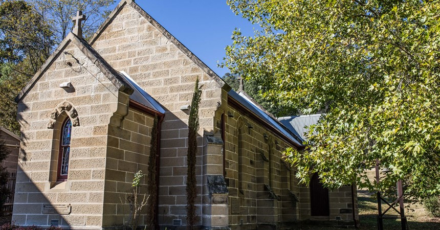 St Michael the Archangel's Church at Wollombi IMAGE