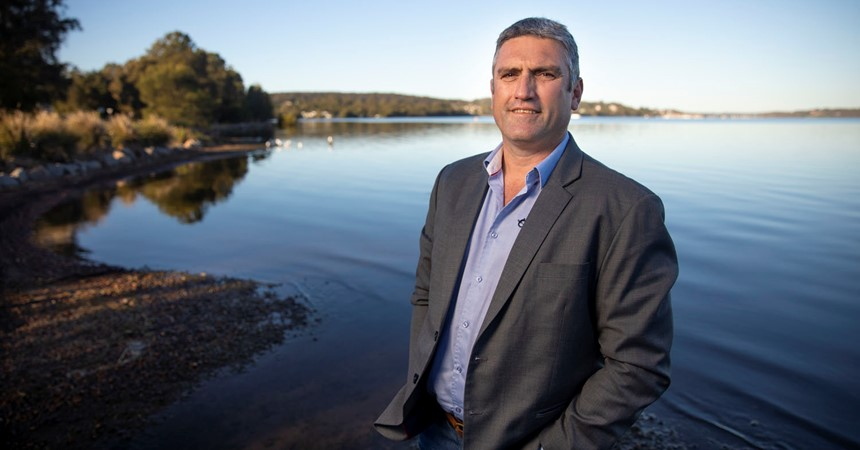 Aboriginal entrepreneur offers sporting chance IMAGE