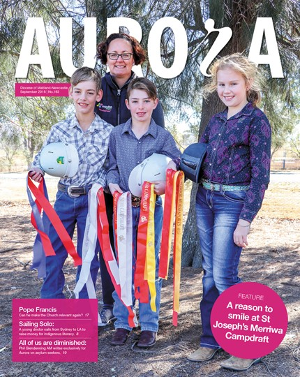 Aurora Magazine September 2018 Cover