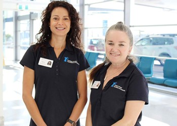 Dedicated nurses to help prostate cancer patients throughout the Newcastle and Hunter region IMAGE
