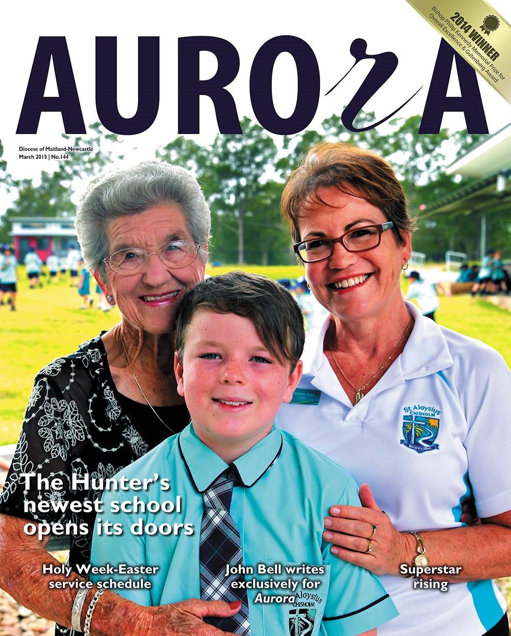Aurora March 2015 Cover Image