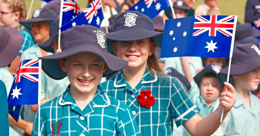 GALLERY: Schools gather to commemorate ANZAC Day 2017 IMAGE