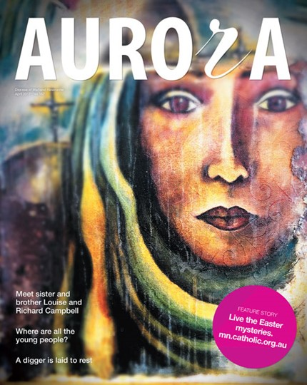 Aurora Magazine April 2017 Cover