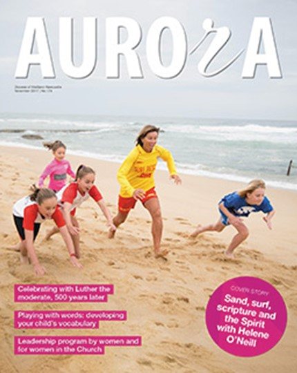 Aurora Magazine November 2017 Cover