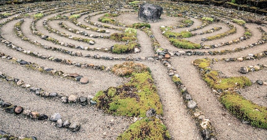 Labyrinths are not mazes but they are amazing IMAGE