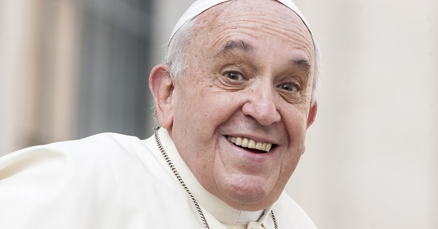 Pope Francis' World Youth Day challenge IMAGE