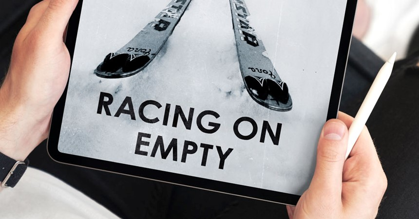 Book review – Racing on Empty by Iona Rossely IMAGE