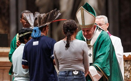 Amazon synod questions celibacy  IMAGE