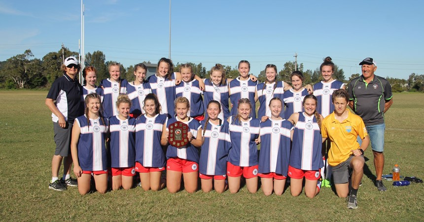 Undefeated AFL champions at St Mary's  IMAGE