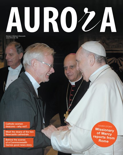 Aurora Magazine June 2018 Cover