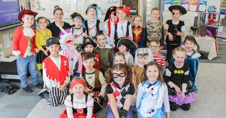 Grandparents Day, Book Week at St Patrick's Lochinvar – and $1,500 raised for Buy a Bale IMAGE