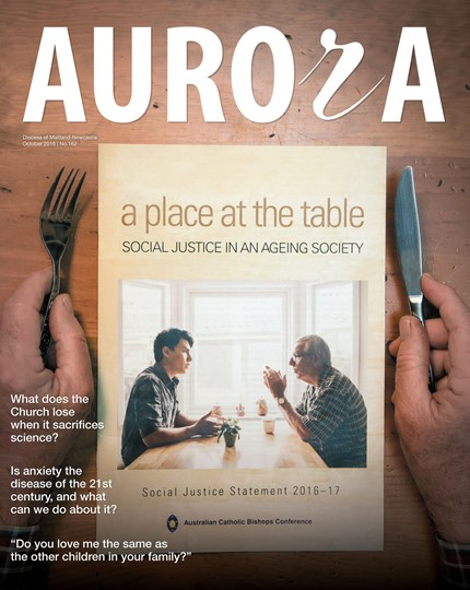 Aurora Magazine October 2016 Cover
