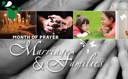 Prayer for Marriage and Families IMAGE
