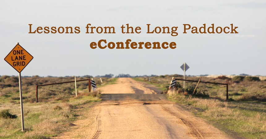 eConference: Lessons from the Long Paddock IMAGE