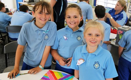 Image:GALLERY: Year 3 transition day at Holy Spirit