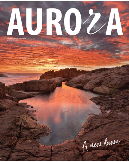 Aurora Magazine April 2021 Cover