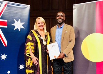 Inspiring journey ends with Australian citizenship IMAGE