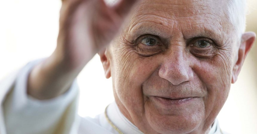 Embracing Pope Benedict's vision for the future IMAGE