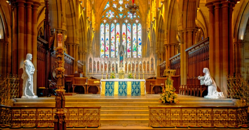 Channel 7 to broadcast St Mary's Cathedral Easter services IMAGE