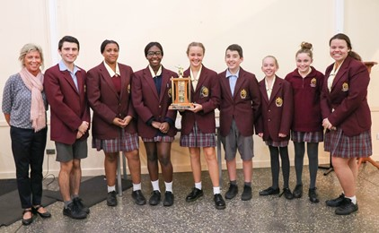 Diocesan Secondary Schools Public Speaking Competition 2018 IMAGE