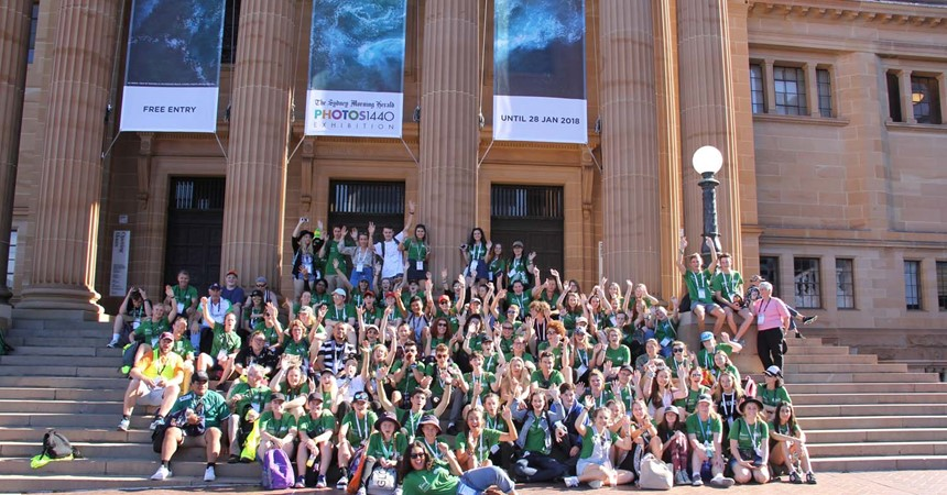 Maitland-Newcastle pilgrims join thousands in Sydney for the Australian Catholic Youth Festival IMAGE