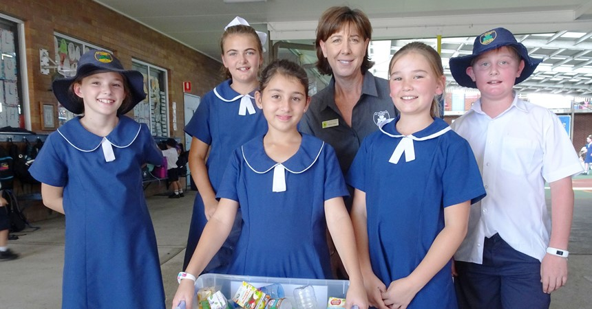Recycling at St Patrick's Cessnock IMAGE