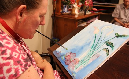 AURORA EXTRA: Gifted artist, Elizabeth Cant IMAGE