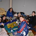 St Paul's Booragul sleepout for homelessness Image