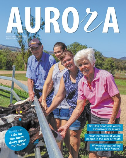 Aurora Magazine May 2018 Cover
