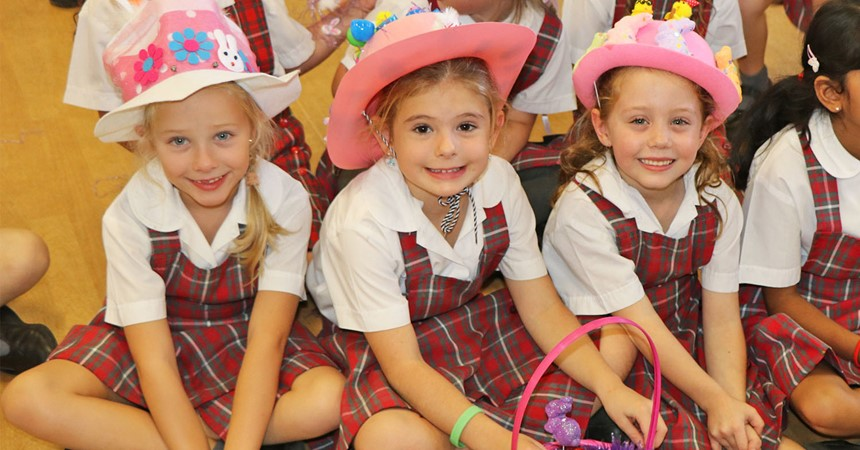 GALLERY: Easter hat parade at St Benedict's IMAGE