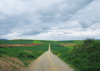 Pilgrimage: learning to travel lightly on the road IMAGE