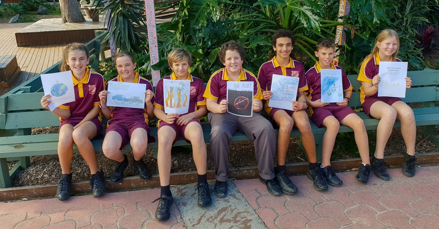 Spectacular storytellers at Holy Name Forster IMAGE