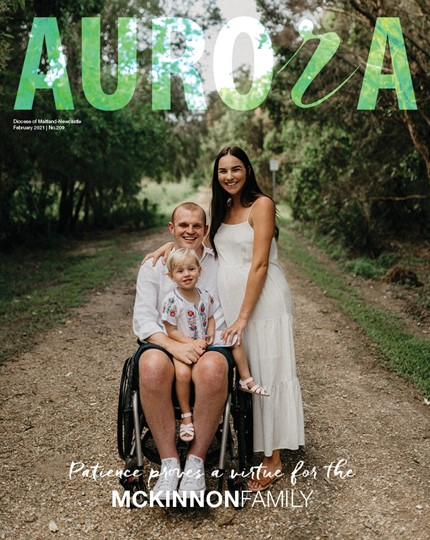 Aurora Magazine February 2021 Cover
