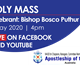 Holy Mass with Bishop Bosco Puthur IMAGE