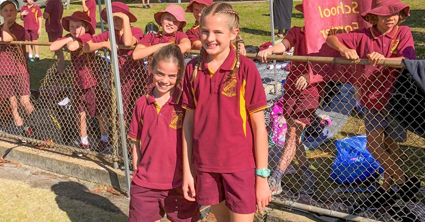 Manning Region Primary Athletics Carnival 2018 IMAGE
