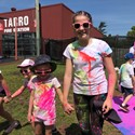 A colourful day for OLOL Tarro Image