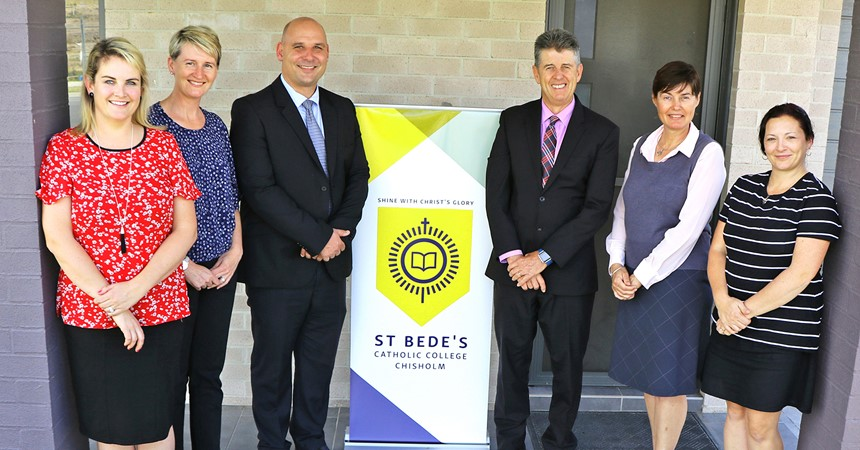 St Bede's is growing fast!  IMAGE