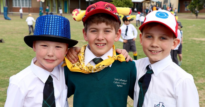 St Catherine's celebrates health and wellbeing  IMAGE