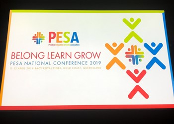 'Belong. Learn. Grow' – PESA Conference 2019 IMAGE