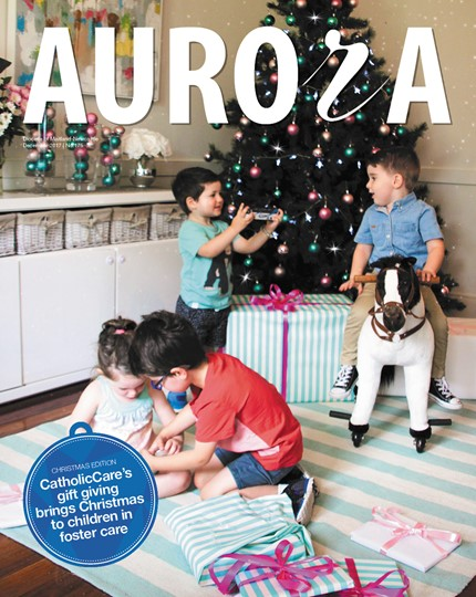Aurora Magazine December 2017 Cover