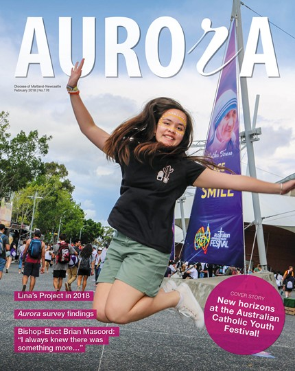 Aurora Magazine February 2018 Cover